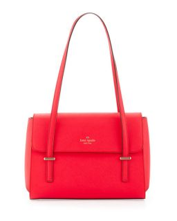 kate spade new york cedar street luciana shoulder bag, dark geranium