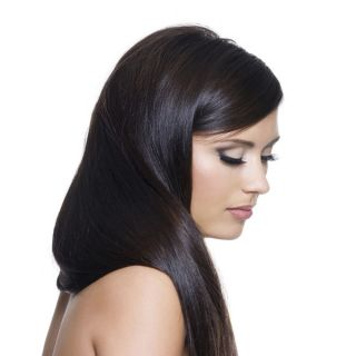 Donna Bella Hair Full Head Human Hair 16 inch Clip In Hair Extensions