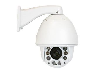 GW PTZ (Pan Tilt Zoom) Camera 700 TVL Sony EFFIO Super CCD 27* Optical Zoom 10* Digital Zoom Outdoor & Indoor 325 feet InfraRed Distance Water Proof CCTV Surveillance Dome Security Camera