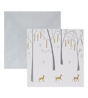 BELLY BUTTON   Deer Christmas cards 6 pack