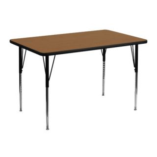 48 x 30 Rectangular Classroom Table by Flash Furniture