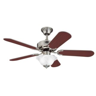 Westinghouse 7861500 42 Brushed Nickel Five Blade Indoor Ceiling Fan