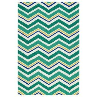 Kaleen Escape Chevron Indoor Outdoor Accent Rug   4x6' 135UM 81
