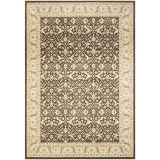 Safavieh Florenteen Brown/Ivory Traditional Rug (53 x 76