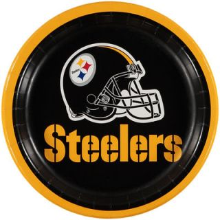 Pittsburgh Steelers 8 Pack Lunch Plate Set