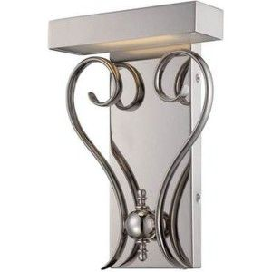 Nuvo Lighting NUV 62 169 Coco Polished Nickel  Wall Sconces Lighting