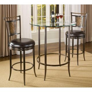 Hillsdale 3 Piece Parkside Bar Height Pub Table Set   Pub Tables